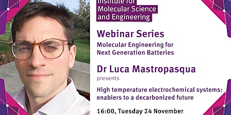 High temperature electrochemical systems: enablers to a decarbonized future tickets
