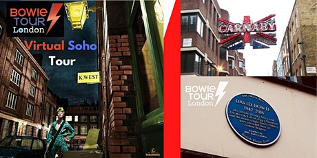 David Bowie's Soho - A Virtual Musical Tour tickets