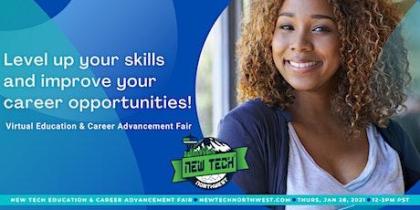 New Tech Virtual Education & Career Advancement Fair tickets