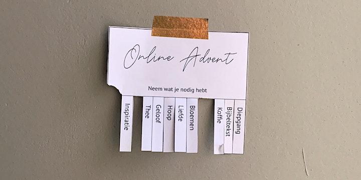 Afbeelding van Online Advent