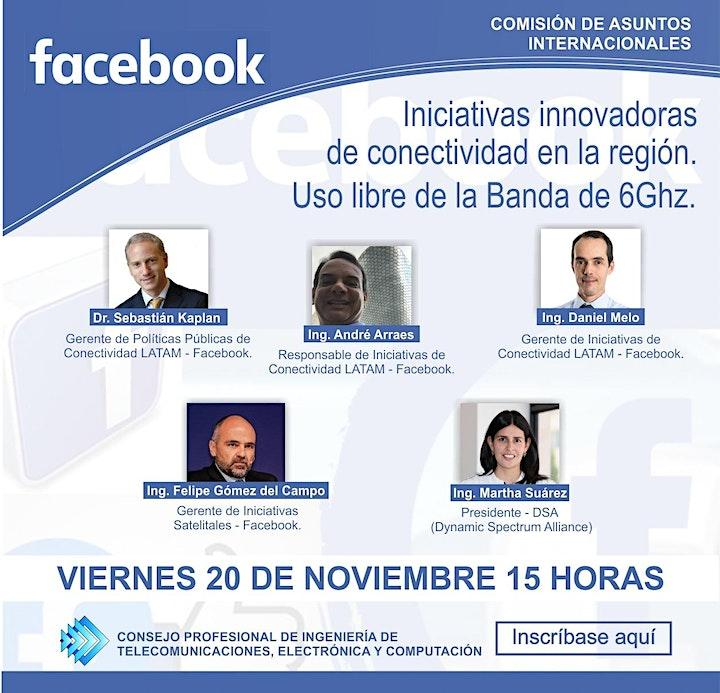 Imagen de FACEBOOK: Iniciativas innovadoras de conectividad en la región