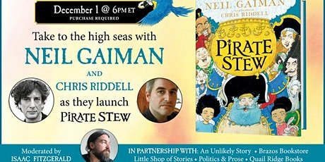 Neil Gaiman with Chris Riddell tickets