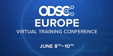 ODSC Europe Virtual Conference 2021 tickets