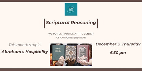 Scriptural Reasoning: Abraham's Hospitality tickets