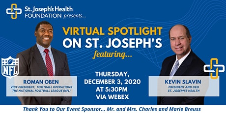 Virtual Spotlight on St. Joseph's tickets