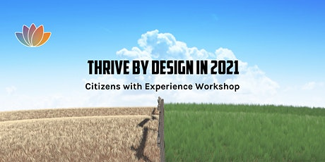 Thrive by Design for 2021 tickets