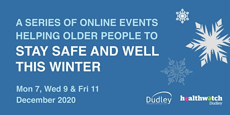 Winter Wellbeing for Older People - Day 1 Looking After Yourself tickets