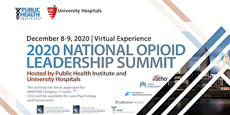 2020 National Opioid Leadership Summit: Virtual Experience tickets