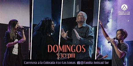 Familia Amistad Sur | Domingo presencial  29 NOV boletos