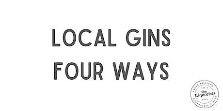 Local Gins Four Ways (Virtual E-Cruise) tickets