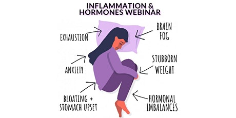 Addressing Hormones & Inflammation Naturally - Live Webinar tickets
