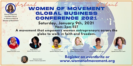 Virtual Women of Movement Global Business Conference 2021 tickets