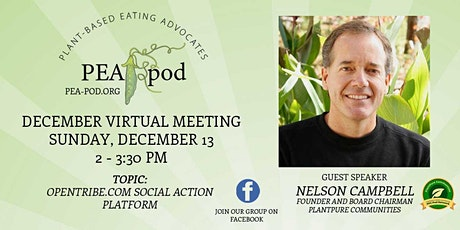 December Meeting 2020 PEA Pod (Plant-based Eating Advocates) tickets