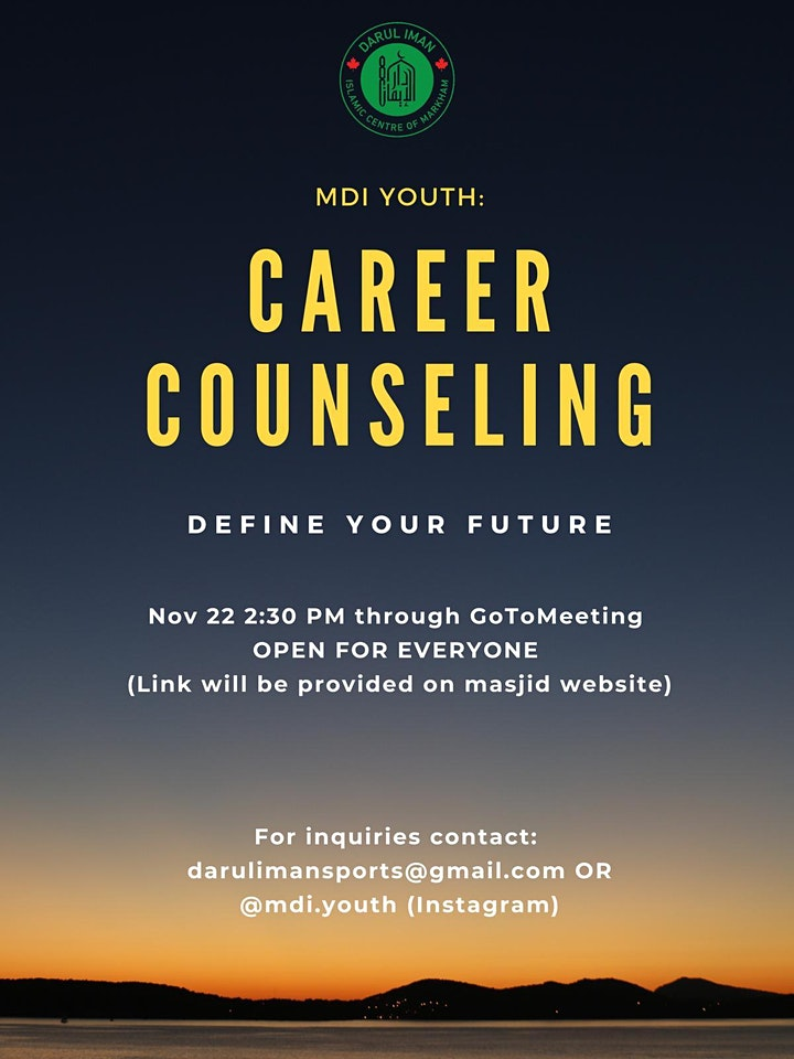 MDI Youth: Career Counselling image