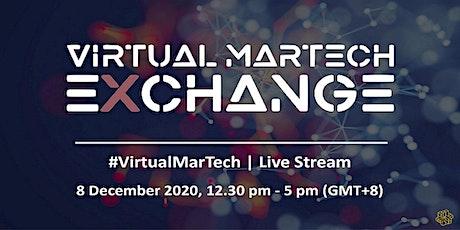 The Virtual MarTech Exchange Summit tickets