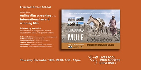 Liverpool Screen School Presents: Khacchad Mule (Screening & Discussion) tickets