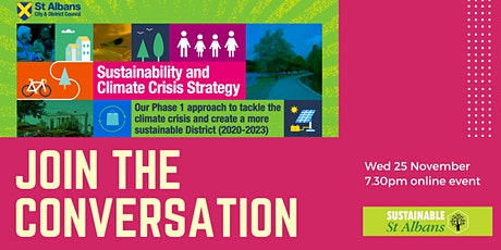 SADC Sustainability and Climate Crisis Strategy - how can we be involved? tickets