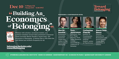 Building an Economics of Belonging (Toward Belonging Digital Dialogue) tickets
