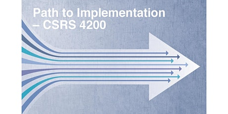 Path to Implementation – CSRS 4200 | January 6, 2020 tickets