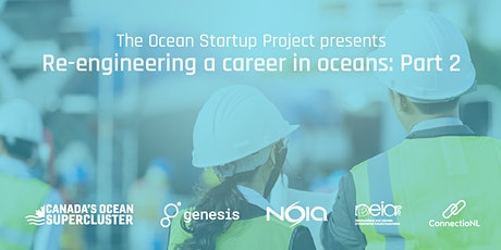 Re-engineering a career in oceans tickets