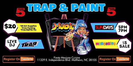 Trap & Paint (Sip & Paint) tickets