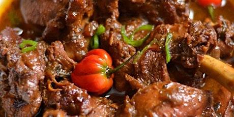 UBS - Virtual Cooking Class: Jamaican Brown Stew Chicken tickets