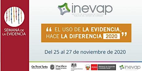"""""""El uso de la Evidencia, hace la Diferencia 2020"""" entradas"""