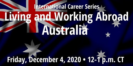 ICS: Living and Working Abroad: Australia tickets