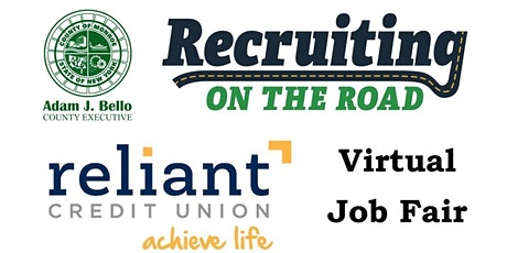 Reliant Credit Union - Virtual Recruiting on the Road Job Fair tickets