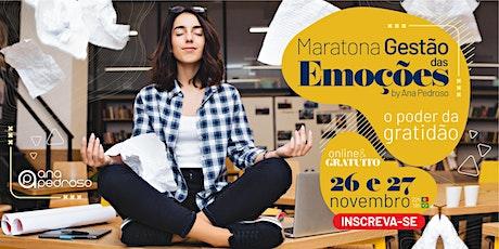 Maratona Gestão das Emoções - O Poder da Gratidão ingressos