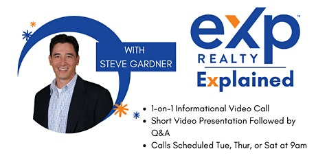 EXP Realty Explained - Schedule a 1-on-1 Video Call tickets