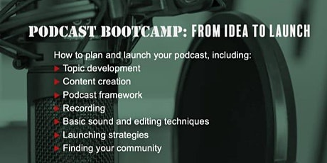 Podcast Bootcamp: From Idea to Launch entradas