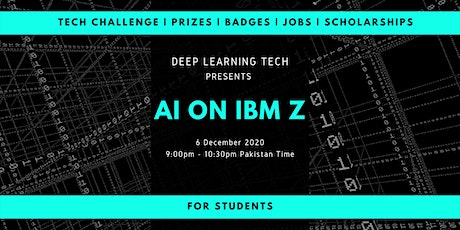 AI on IBM Z with Deep Learning Tech tickets