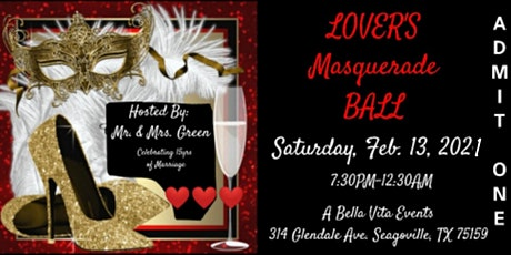 Lover's Masquerade Ball tickets