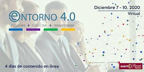 """Entorno 4.0. """"2021 La Transformación Digital de las Empresas en México"""" entradas"""