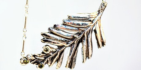 Metal Clay Jewelry Workshops: Silver Leaf Necklace tickets