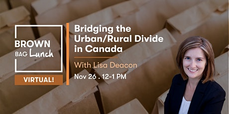 Bridging the Urban/Rural Divide in Canada tickets