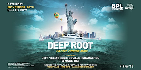 Deep Root Jewel Yacht Cruise tickets