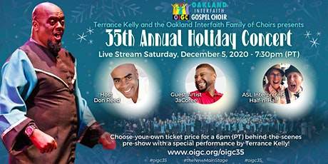 """12/5: 35th Annual Holiday Concert - """"The New Main  tickets"""