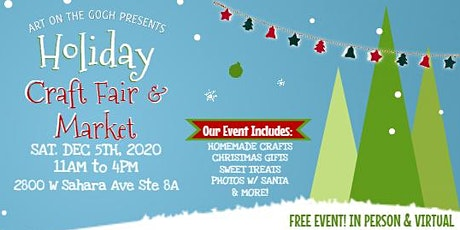 Virtual Holiday Craft Fair & Market tickets