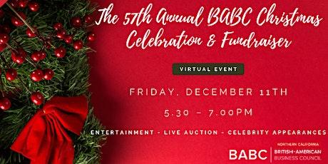 57th Annual BABC Christmas - Virtual Celebration & Fundraiser (#xmasbabcsf) tickets
