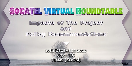 SoCaTel Policy Virtual Roundtable 2020 tickets