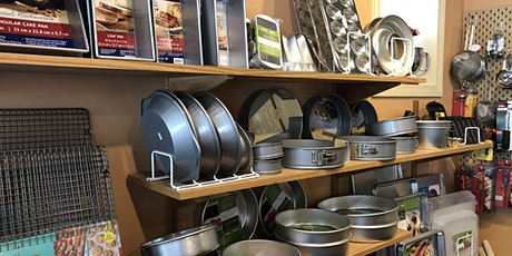 Private shopping at Elmendorf Baking Supplies tickets