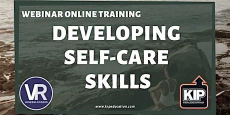 Webinar Online Training: Developing Self-Care Skills tickets