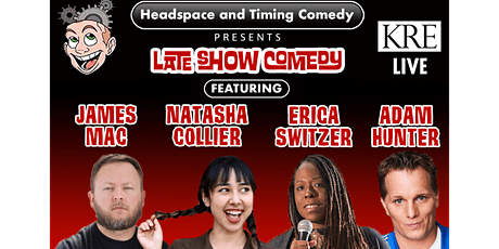 Headspace and Timing Comedy tickets