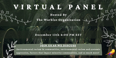 FREE Virtual Panel Discussion On Environmental Issues tickets
