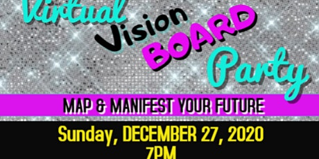 Vision Board Party  for 2021 tickets