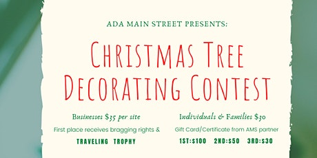 Ada Main Street Christmas Tree Decorating Contest tickets