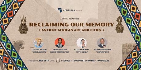 Reclaiming our Memory: Ancient African Art and Cities tickets