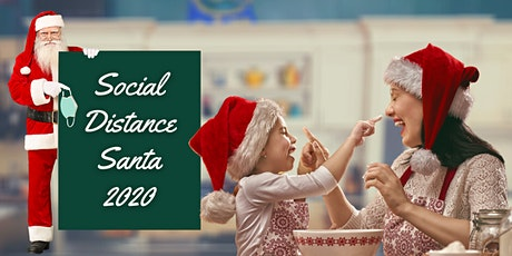Social Distance Santa Pictures 2020 tickets